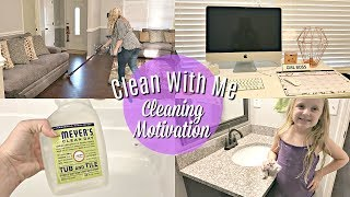 Cleaning Motivation Weekly Cleaning Routine