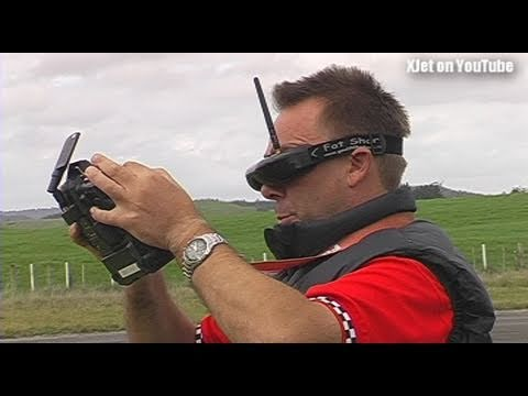 FPV RC Plane crashes 2Kms from launch