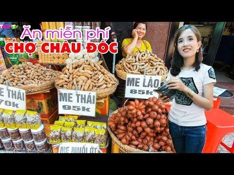 Khám phá CHỢ CHÂU ĐỐC AN GIANG ▶ Lạc lối Thiên đường Ẩm thực Lào Thái Lan, Thủ phủ Khô Mắm - Thời lượng: 41 phút.