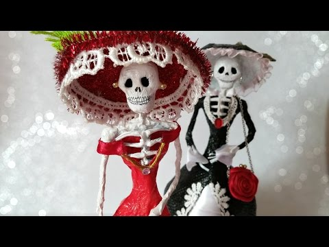 DIY: Catrina Dolls ''Dapper Skeleton''