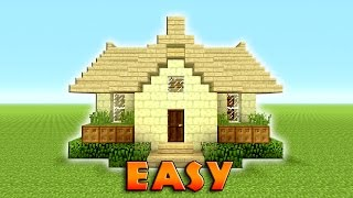 Minecraft: How To Build A Suburban House   Tutorial   End Stone   EASY, COMPACT & EFFICIENT   TU43