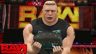 Nonton WWE RAW 2K17 Story - Brock Lesnar Reveals New World Title | 02/13/17 Film Subtitle Indonesia Streaming Movie Download