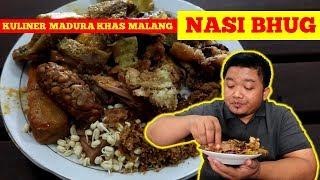 Video LAUKNYA MELIMPAH! Nasi Bhug, Kuliner Terkenal di Kota Malang Aslinya dari Madura MP3, 3GP, MP4, WEBM, AVI, FLV November 2018