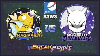Pokemon TCG - MLPB S3W3 MANKATO MAGIKARP VS MODESTO MEWTWOS by Papa Blastoise