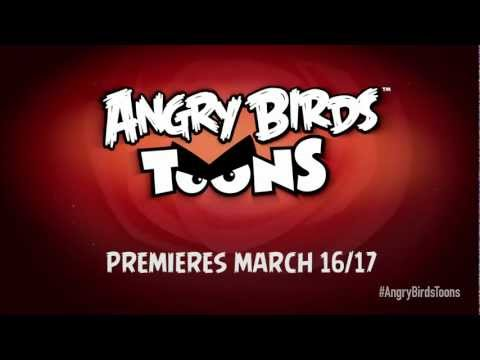 Angry Birds Toons – a brand new cartoon series premiering on March 16 & 17!
