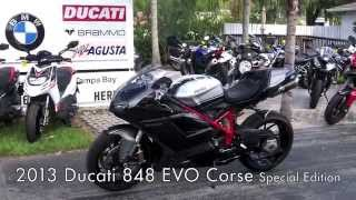 9. Pre-Owned 2013 Ducati 848 EVO Corse Special Edition at Euro Cycles of Tampa Bay