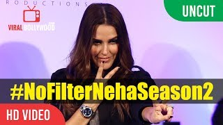 Watch UNCUT - Neha Dhupia Launch No Filter Neha Season 2  Neha Dhupia Company : ViralBollywood Entertainment Private ...