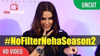 Watch UNCUT - Neha Dhupia Launch No Filter Neha Season 2  Neha Dhupia Company : ViralBollywood Entertainment Private...