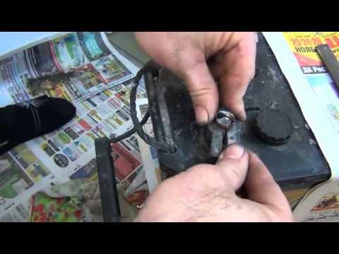 Ремонт клеммы аккумулятора автомобиля своими руками 56