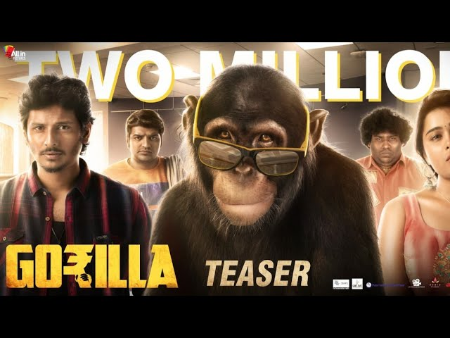 கொரில்லா Tamil Movie Official Teaser