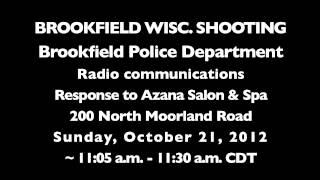 Brookfield (WI) United States  city photos gallery : Brookfield, Wisconsin Azana Salon & Spa Police Radio Audio Starting with First Dispatch