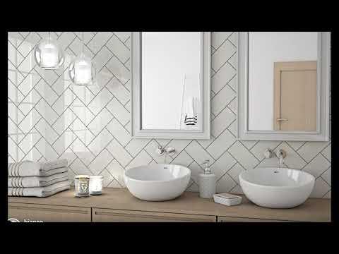 20 mẫu gạch ốp trang trí tường nhà đẹp không thể rời mắt