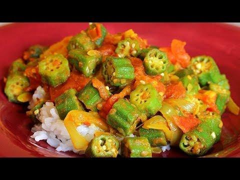 Spicy Okra – Indian Bhindi Curry Recipe