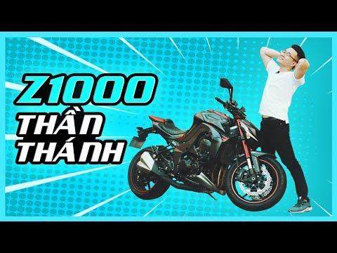 PKL - Chạy thử và đánh giá Kawasaki Z1000 thần thánh (Review Kawasaki Z1000 2016) - Thời lượng: 19 phút.