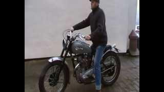 6. T100RR Triumph Pre Unit Rigid 1954 JOMO