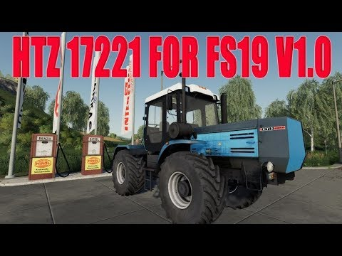 HTZ 17221 for FS19 v1.0