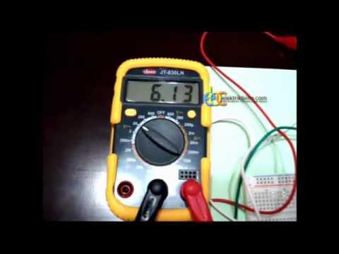 UA741 OpAmp Ile Evirmeyen Yükselteç Uygulaması
