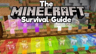 Automatic Sheep-Shearing Wool Farm! • The Minecraft Survival Guide (Tutorial Lets Play) [Part 132]