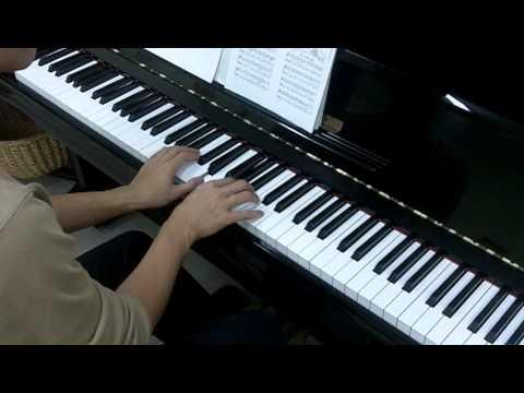 John Thompson's Easiest Piano Course Part 4 No.10 Barcarolle (P.18)