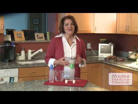 Safely Preparing a Baby Formula Bottle, Infant Feeding Tips from Barb Dehn, RN