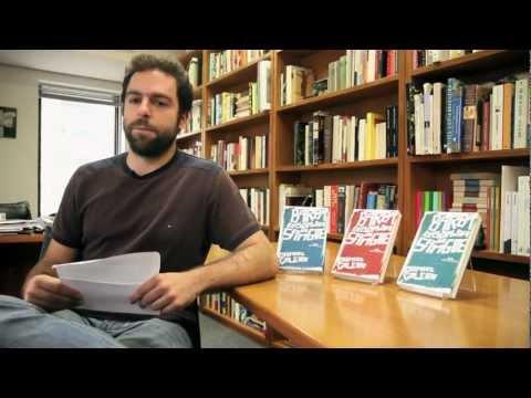 Daniel Galera responde perguntas dos leitores - Nov 2012