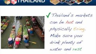 Shopping And Markets-Travel Safe Advice To Thailand