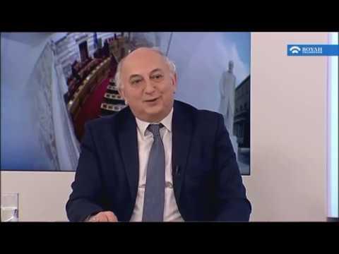 Συνέντευξη εφ' όλης της ύλης του Υφυπουργού Εξωτερικών Γιάννη Αμανατίδη (09/02/2017)
