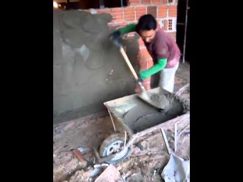 intonacare le pareti di una casa in un giorno? si, si può fare!