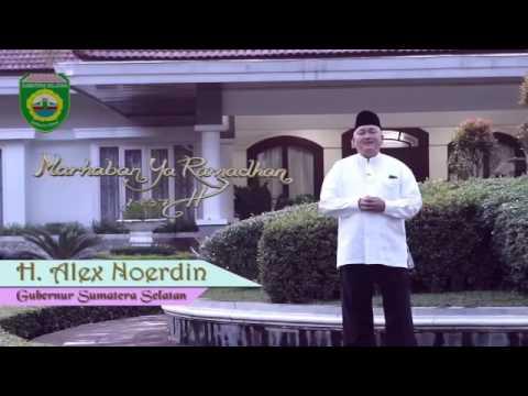 Ucapan Ramadan H. Alex Noerdin