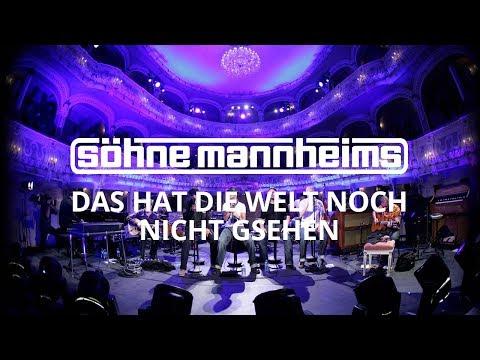 Tekst piosenki Sohne Mannheims - Das hat die Welt noch nicht gesehen po polsku