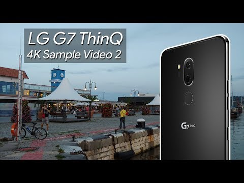 LG G7 ThinQ 4K Sample Video 2