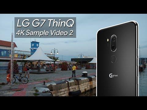 LG G7 ThinQ 4K Sample Video 2