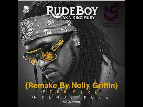 Rudeboy (Paul Psquare) – Fire Fire Instrumental {Remake By Nolly Griffin}