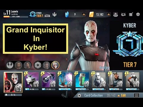 The Grand Inquisitor in Kyber 2v2! Star Wars: Force Arena - Episode 6