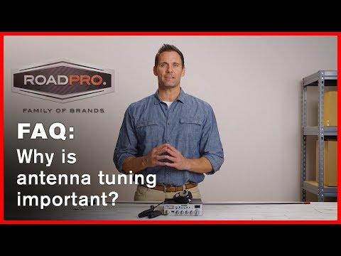 CB Radio FAQ #10 - Why is antenna tuning important?