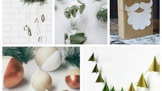 Sentuhan Scandinavian Untuk Dekorasi Perayaan Natal