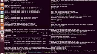 Week 1: Hadoop 1.2.1 Setup On Ubuntu 12.04