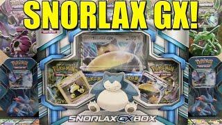 Snorlax GX Box Opening! Brand New Pokemon Cards! by The Pokémon Evolutionaries
