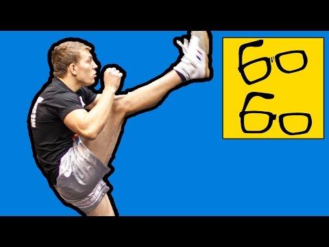 Кикбоксинг K-1 для любителей и профессионалов — тренировка и интервью с кикбоксером Юрием Караваевым (видео)