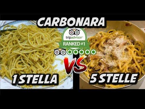 MIGLIOR CARBONARA VS PEGGIOR CARBONARA DI ROMA
