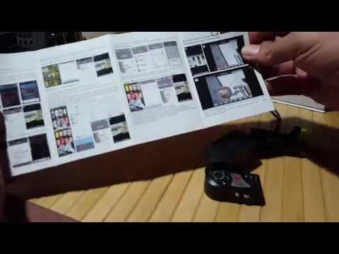 FREDI® Mini Portable P2P WiFi IP Camera Review