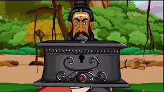 Tales of Tenali Raman in Tamil- 15 -The Tiny Black Box - Animated / Cartoon Stories