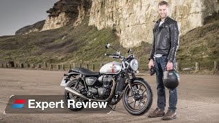 7. 2016 Triumph Street Twin (Bonneville) bike review: Better than a Ducati Scrambler?