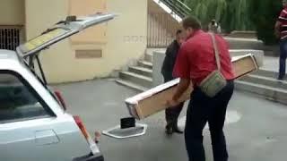 У ростовских погорельцев забрали телевизор после отъезда губернатора