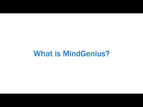 What is MindGenius?