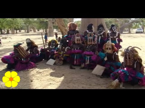 Dogon Ethnic Group in Mali Tribal Sounds African Drums – Tambores Tribu Etnica Sonido Tribal