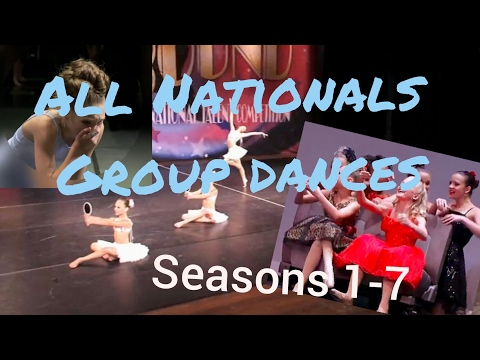 DANCE MOMS || All ALDC National Group Dances (видео)