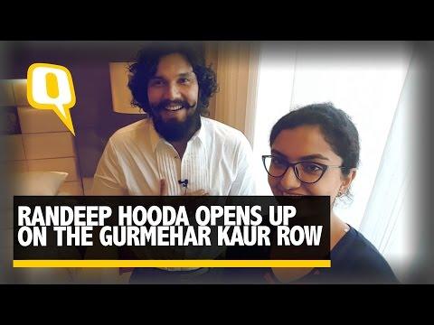 Video The Quint: Randeep Hooda Opens Up On The Gurmehar Row download in MP3, 3GP, MP4, WEBM, AVI, FLV January 2017
