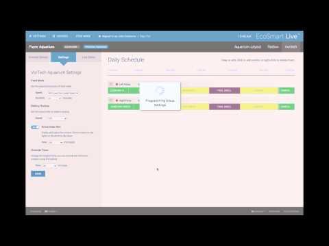 VorTech Control on EcoSmart Live
