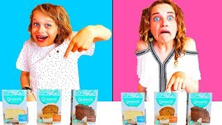 Video TWIN TELEPATHY CAKE CHALLENGE 2 | *hilarious* with The Norris Nuts SIS Vs BRO style MP3, 3GP, MP4, WEBM, AVI, FLV Maret 2019